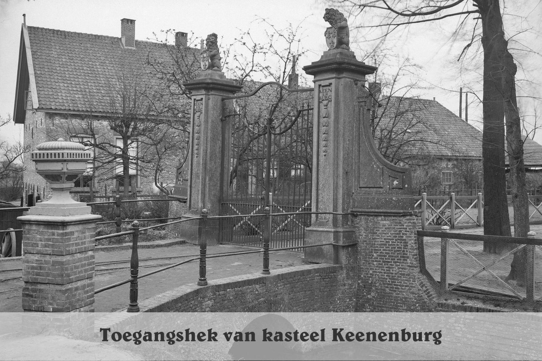 Hek Kasteel Keenenburg1918 - RCE
