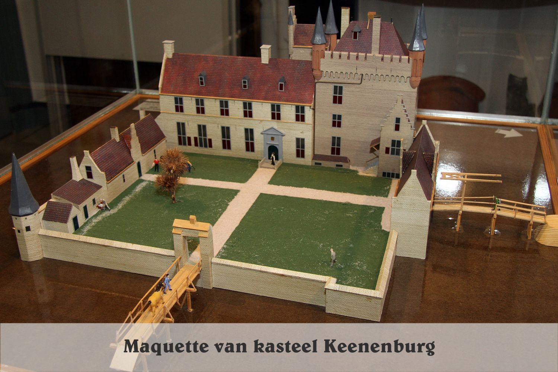 Kasteel Keenenburg macquette