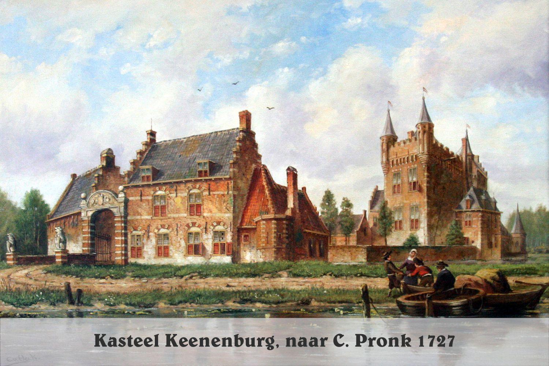 Kasteel Keenenburg, naar C. Pronk