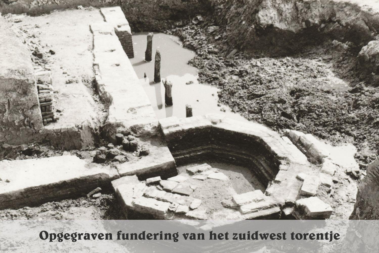 Kasteel Keenenburg opgraving 1968