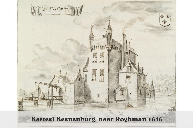 Kasteel Keenenburg1646 - G. van Giesen, naar Roghman 1646