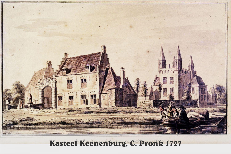 Kasteel Keenenburg1727 - C. Pronk