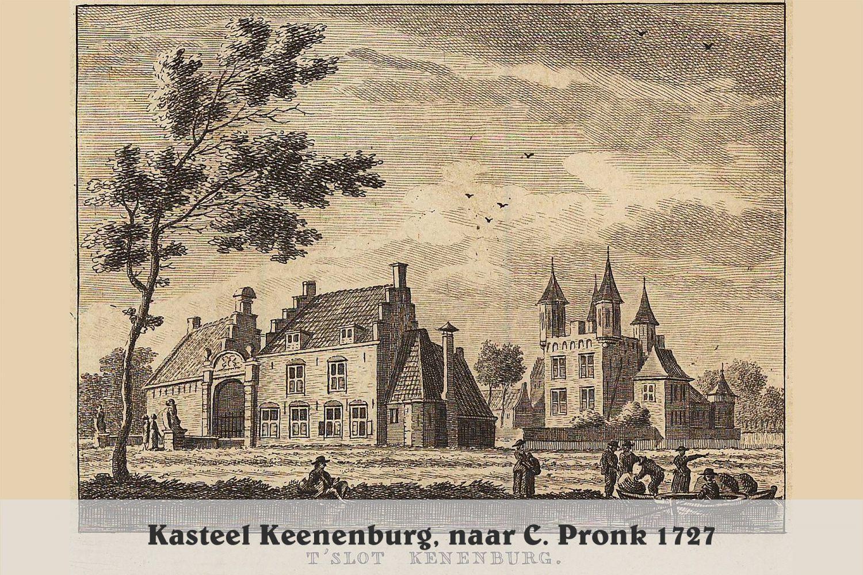 Kasteel Keenenburg1727c