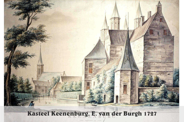 Kasteel Keenenburg1728 - E. van der Burgh